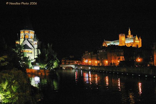 Metz by night