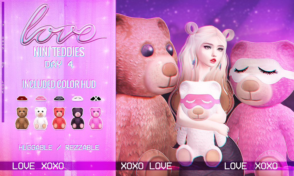 Love [Nini Teddies] VIP GIFT #4 - TeleportHub.com Live!