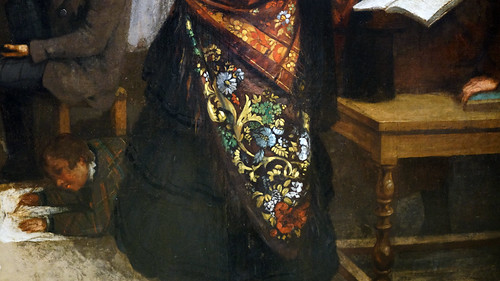 Courbet,_The_Studio,_detail_with_shawl