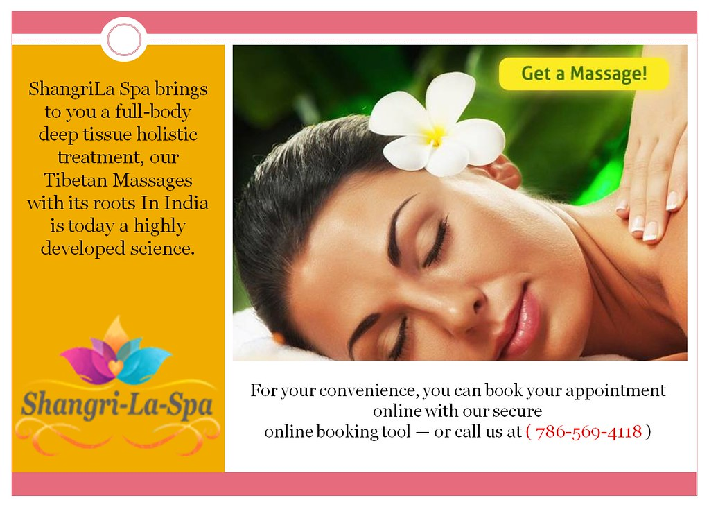 Spa Miami - Choose any Massage Center