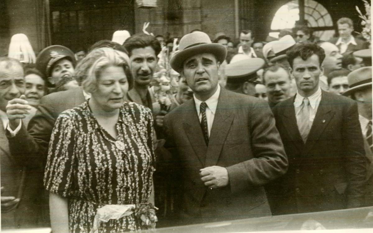 Ana Pauker si Gheorghiu-Dej