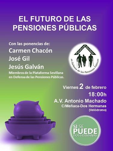 Sí se puede sesión informativa sobre pensiones públicas