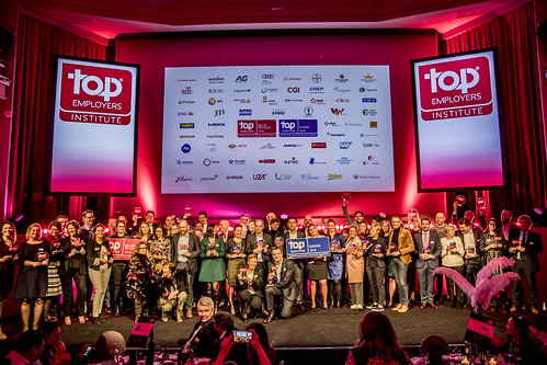 Top Employers Belgi?/Belgique Certification Dinner 2018
