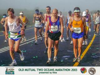 Streckenfoto Two Oceans Marathon