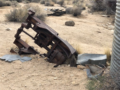 Joshua Tree - Ryan ranch debris