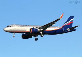 F-WWDU A320 Aeroflot