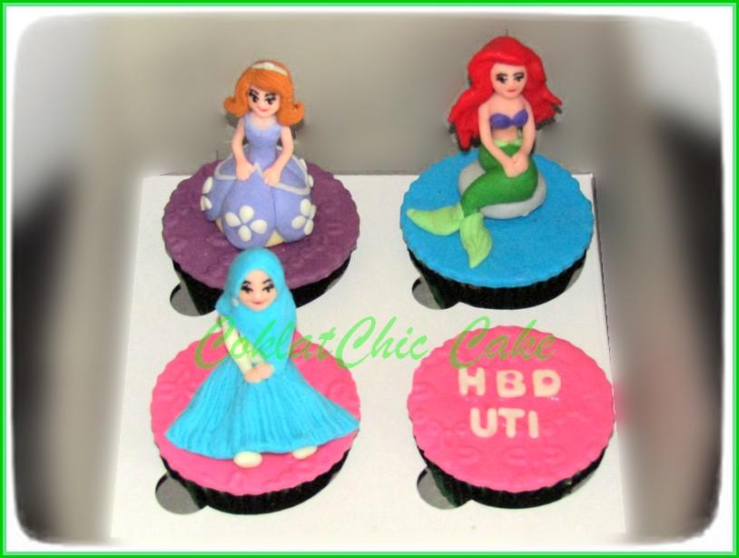 Cupcake set princess