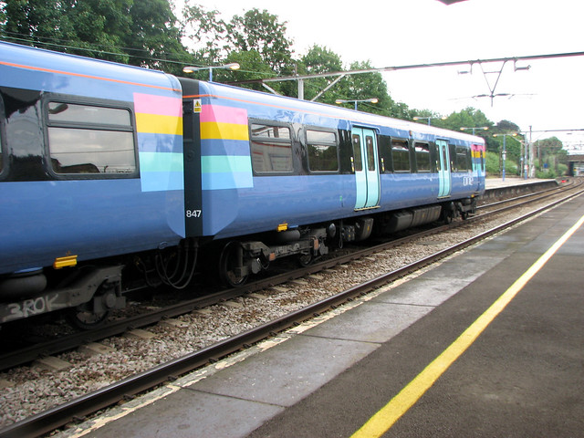 Train at Gidea Park