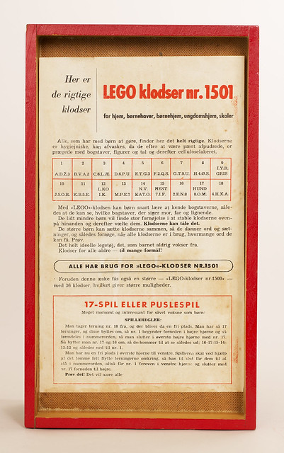 LEGO: Set 1501 Wooden Blocks