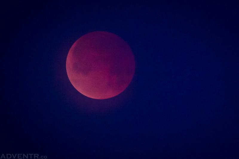 Super Blue Blood Moon Dawn