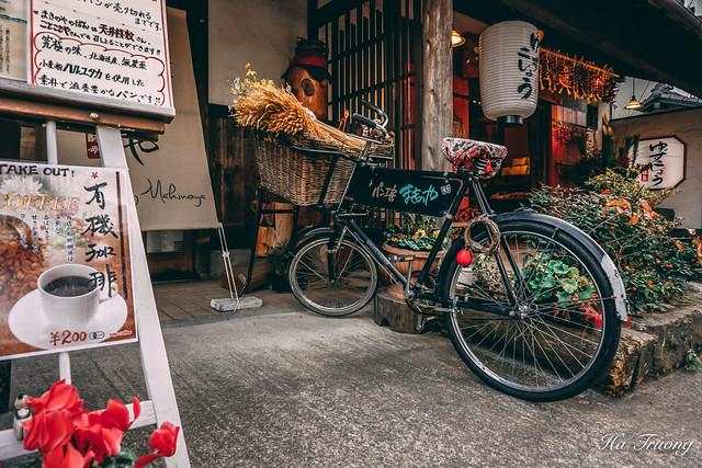 bicycle in 湯布院 Yufuin