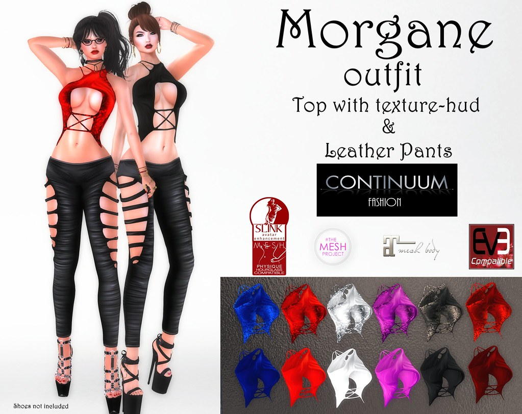 New! Continuum Fashion Morgane Outfit - TeleportHub.com Live!