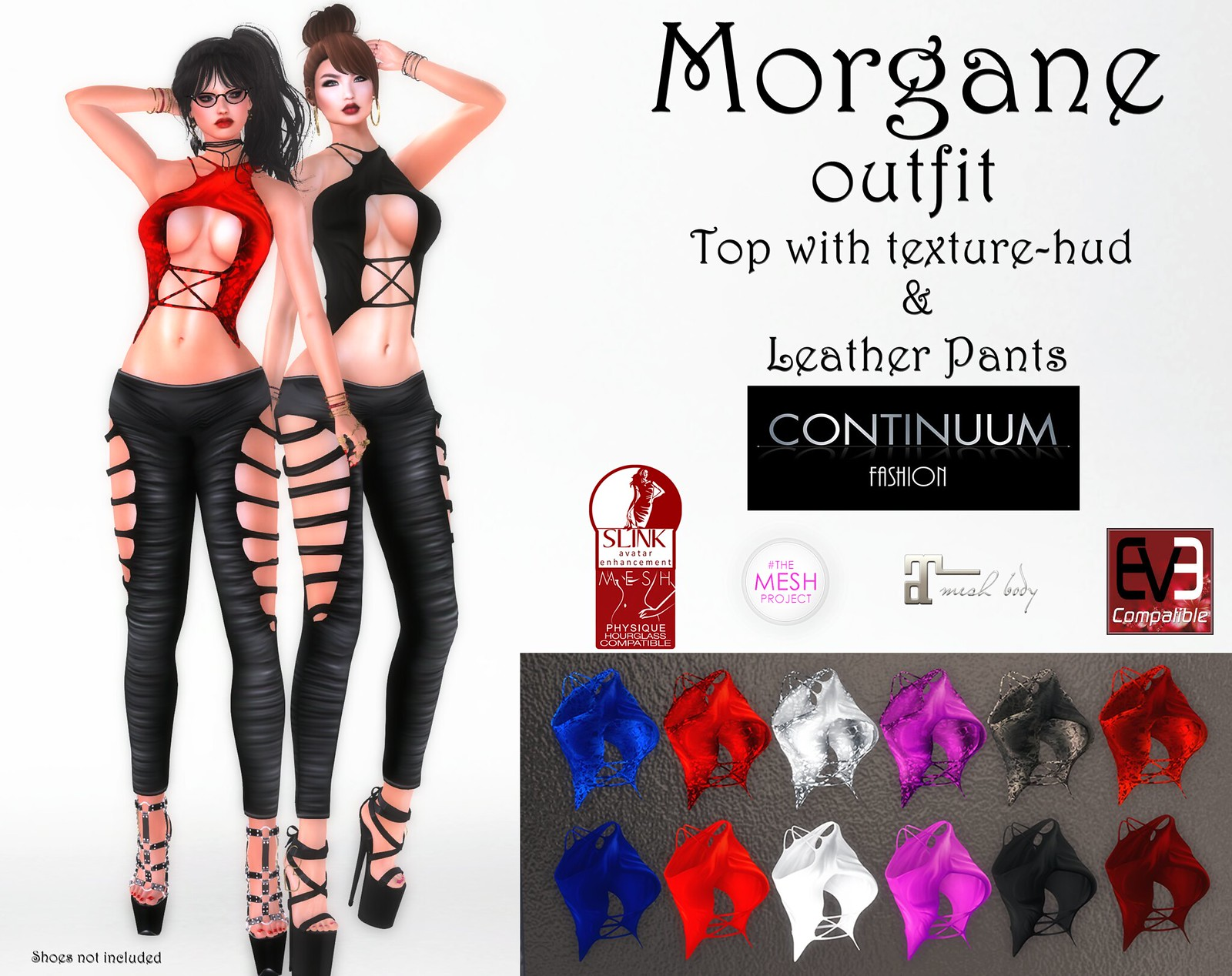 New! Continuum Fashion Morgane Outfit