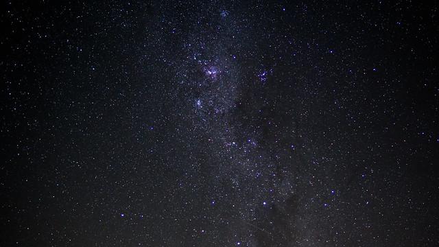 Sternenhimmel über Santa Amelia