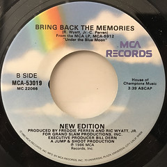 NEW EDITION:TEARS ON MY PILLOW(LABEL SIDE-B)