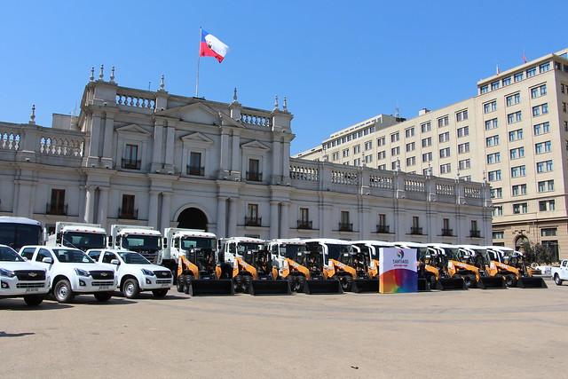 Gobierno Regional entrega vehículos a Municipios