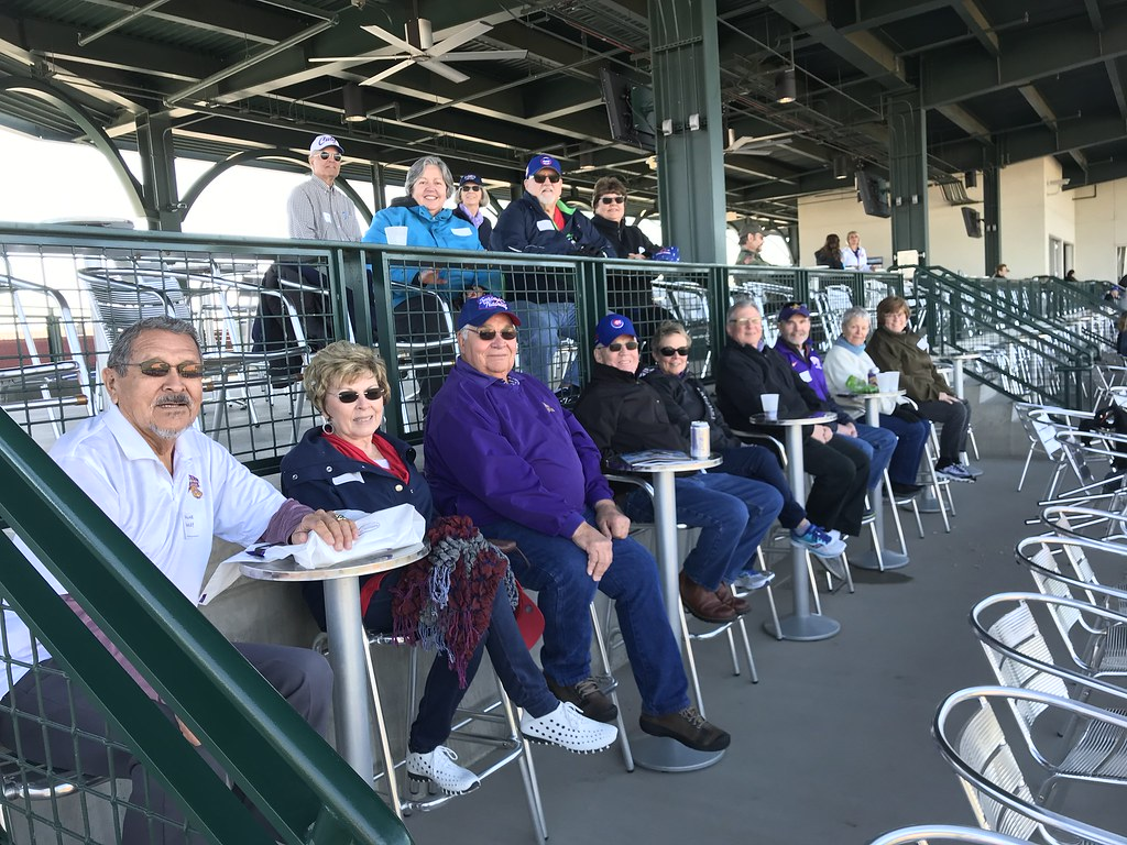 Alumni Social & Cubs Spring Training Game in Mesa, 2/24/18