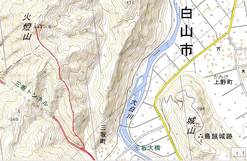 Mt. HOTOMOSHI Map