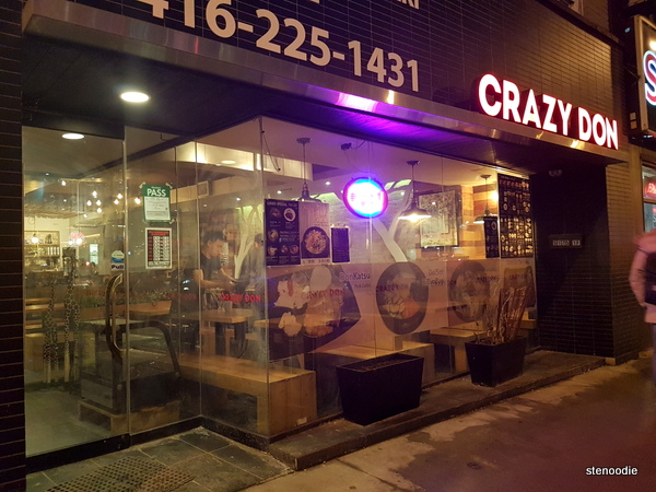 Crazy Don storefront