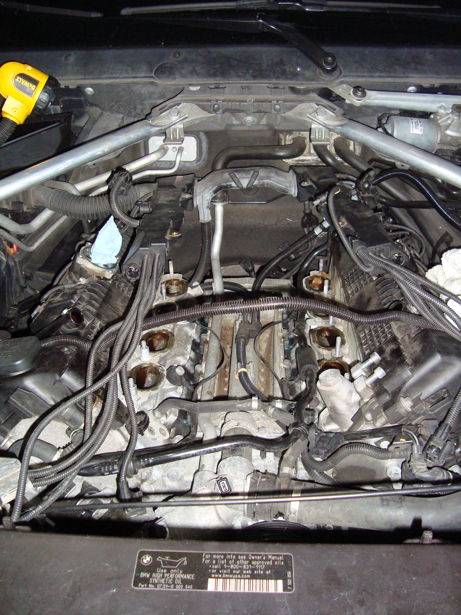 DIY: Coolant Exchange Pipe / Valley Pan Replacement  e70 n62