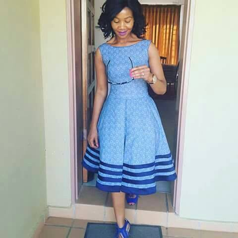 New Ways To Shweshwe Outfits African Tops