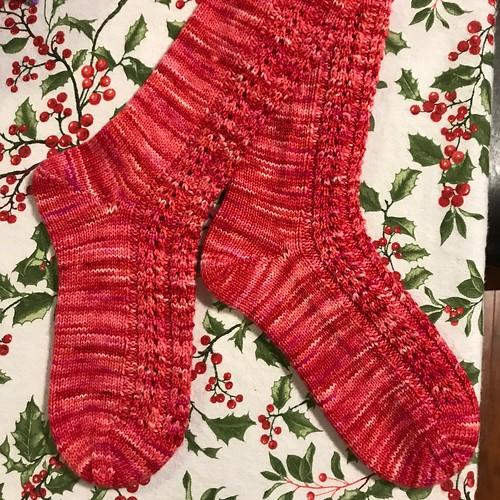 Nik's Valentine Socks