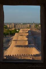 Walls of old Khiva