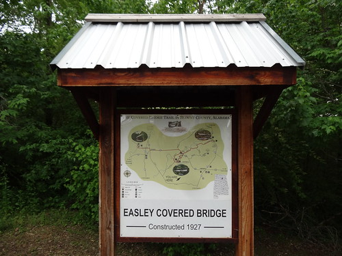 Easley Covered Bridge, Oneonta, AL