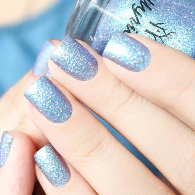 30+ Winter Season Nails Colors 2018-2019