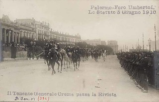 Palermo - Foro Umberto I. Lo Statuto
