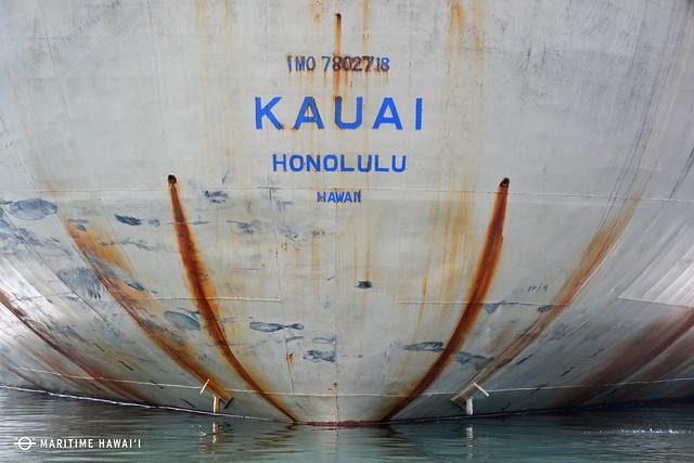 Kauai Stern Detail
