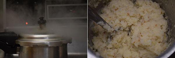 Ulunthu Kanchi / Urad Dal Porridge cooking steps by GoSpicy.net