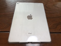 iPad Air 2用TPU製カバー