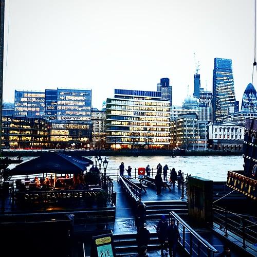 Londra: vista da Southbank