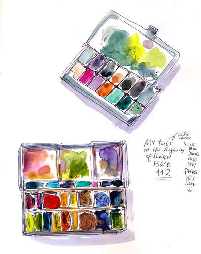 Sketchbook #112: My Palettes