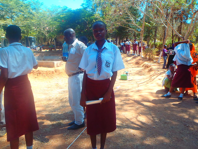 Rachael at Ribe Girls High School