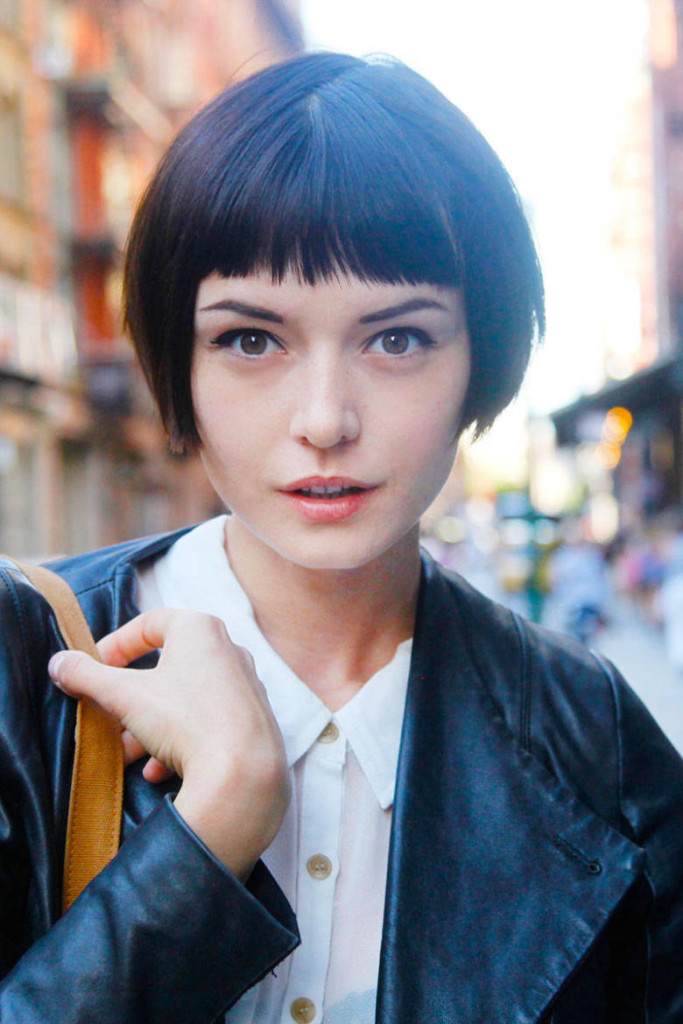 Top 10 best short hairstyles with bangs for round faces 2018 if you adopt bob haircuts again this archetypal will accept article to action you this accent ablaze beard will fix your annular face by agency of a winobraniefo Gallery
