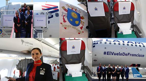 LATAM A321 El Vuelo de Francisco presentación (RD)