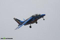 E95 1 - E95 - Patrouille de France - French Air Force - Dassault-Dornier Alpha Jet E - RIAT 2008 Fairford - 070711 - Steven Gray - IMG_6358