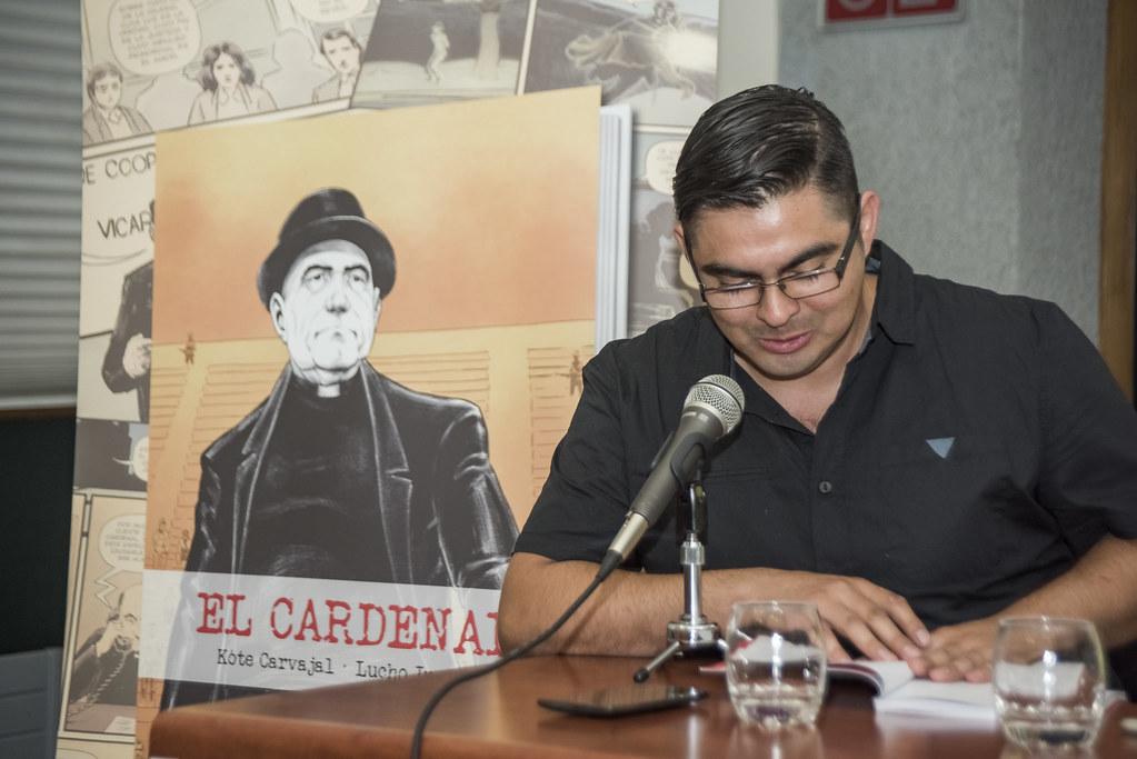 Presentación de El Cardenal, novela gráfica