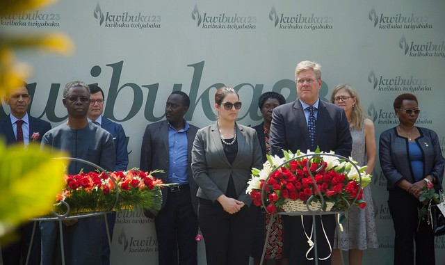 International Holocaust Remembrance Day at the Kigali Genocide Memorial
