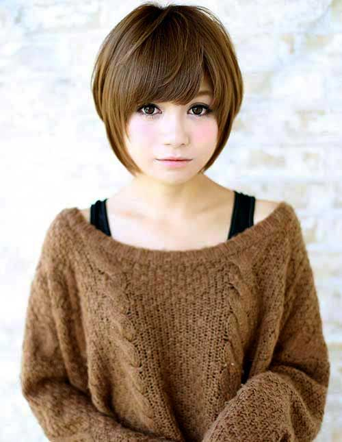 24 Lovely Asian Hairstyle For Round Faces 2018 Fashion 2d