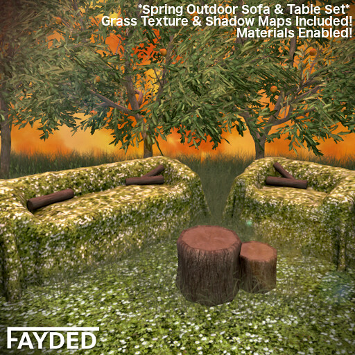 FAYDED – Spring Outdoor Sofa Set