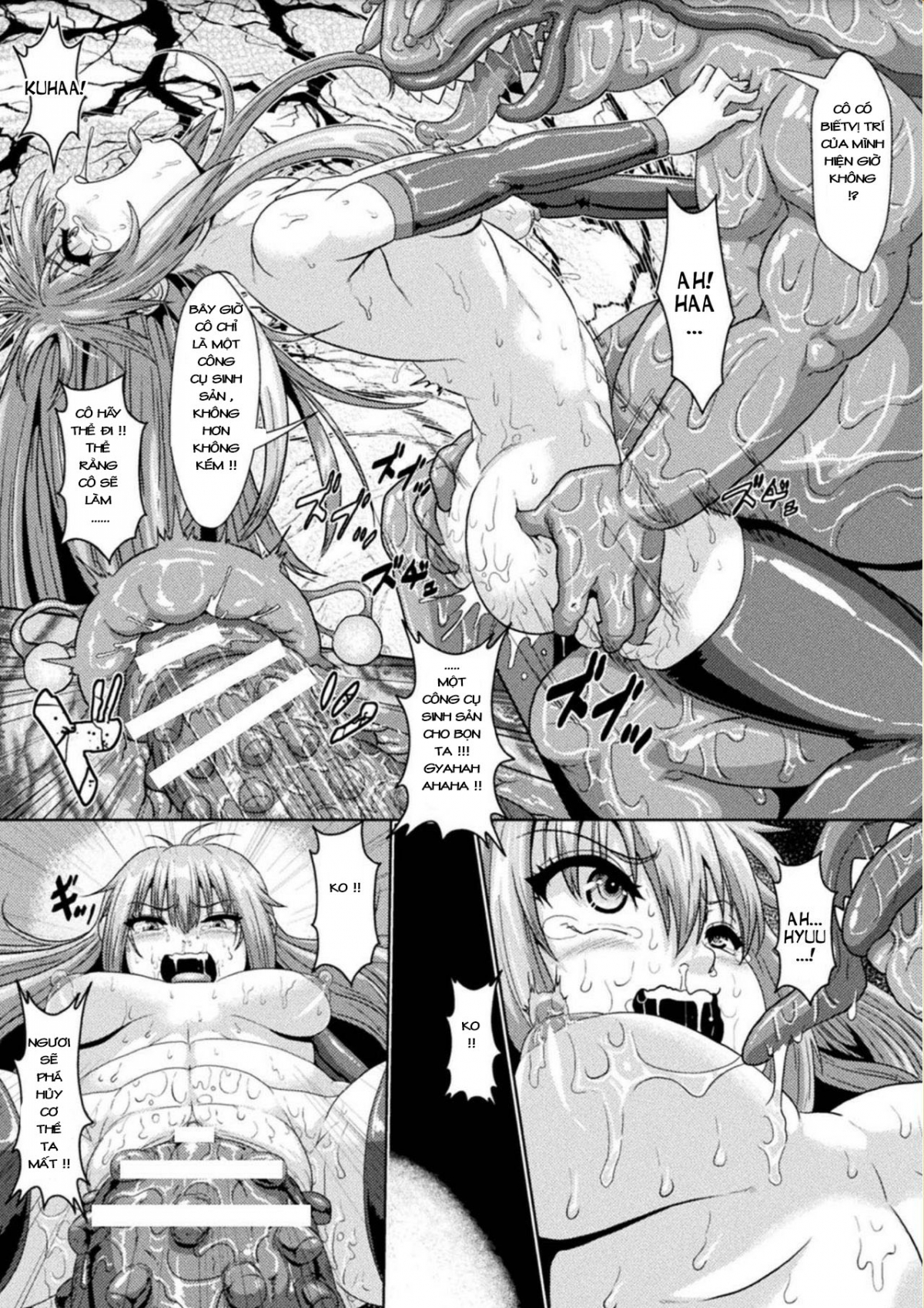 HentaiVN.net - Ảnh 19 - Fallen Witch ~The Reproduction Hole Used For Breeding Slugs~ - Oneshot