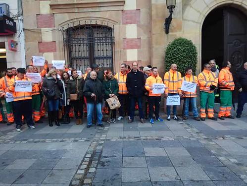 CCOO reclama mejoras en el servicio de jardines de Algeciras