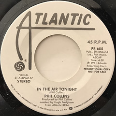 PHIL COLLINS:IN THE AIR TONIGHT(LABEL SIDE-B)