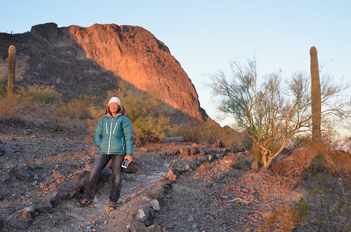 Picacho Peak Linda at sunrise