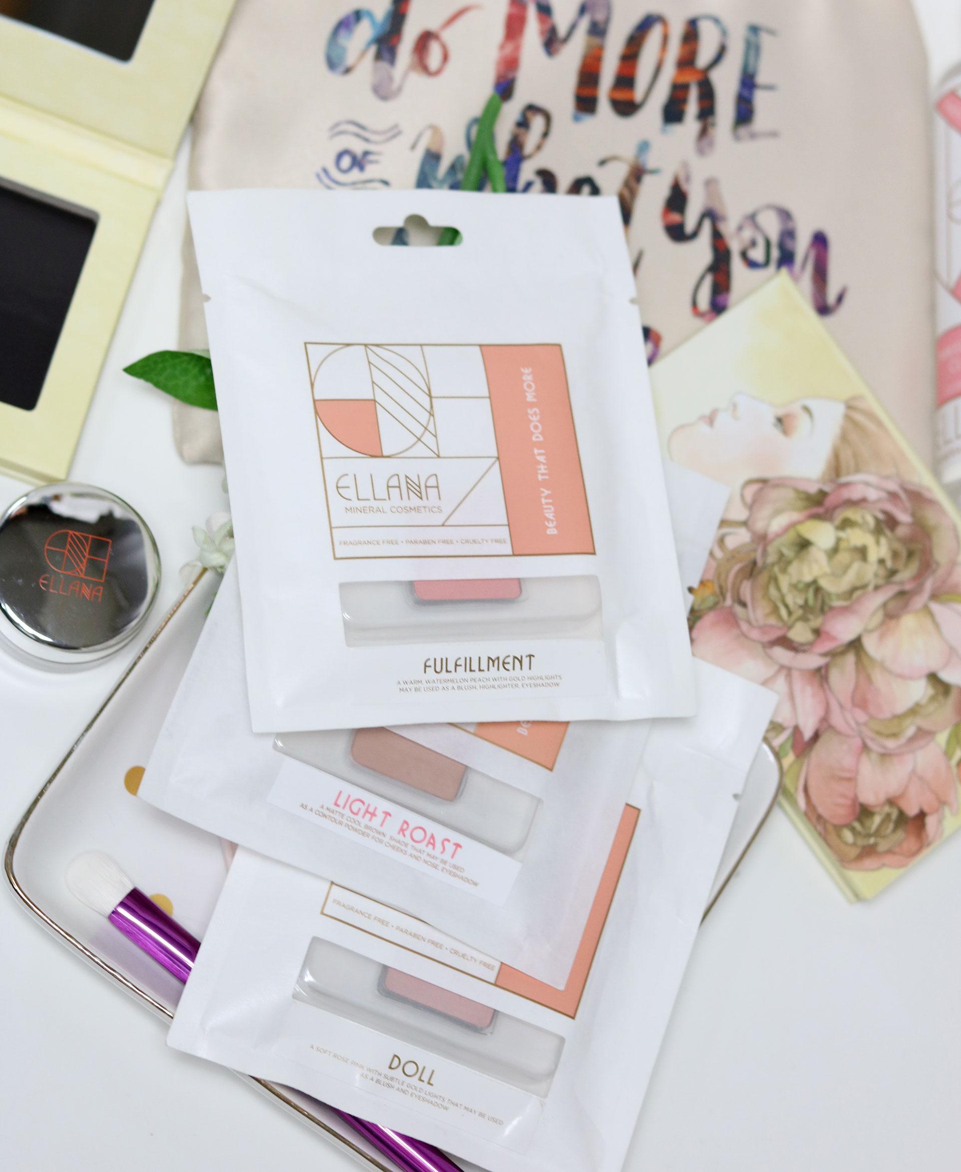 3 Ellana Cosmetics Multipurpose Pressed Pigments