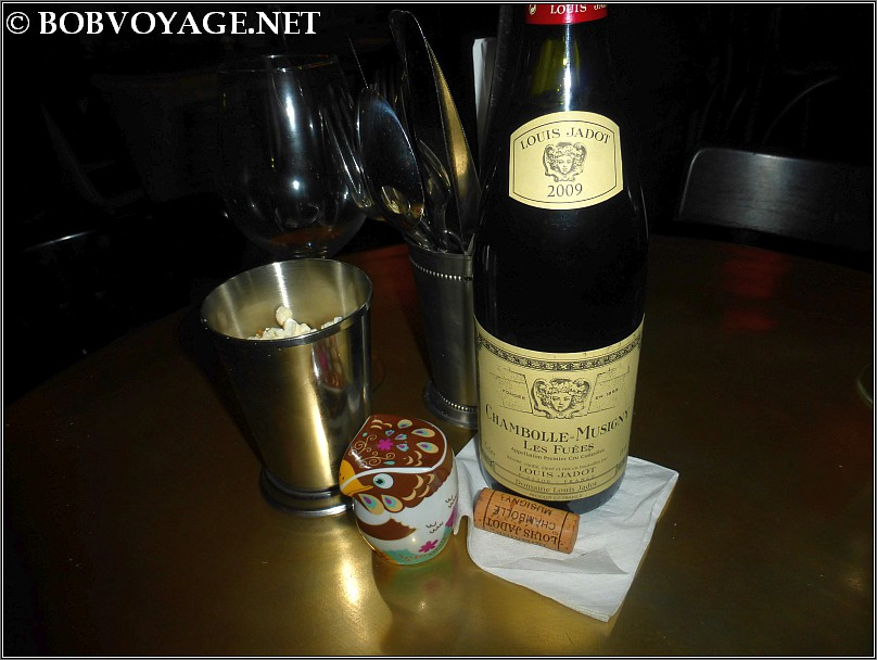 Domaine Louis Jadot Chambolle Musigny Les Fuees 2009 ב- קוקו במבינו (CoCo BamBino)