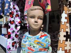 mannequin in pyjamas